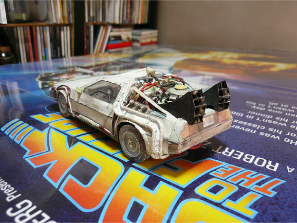 Blog Paper Toy Delorean papercraft picture Delorean DMC 12 Papercraft (x 3)