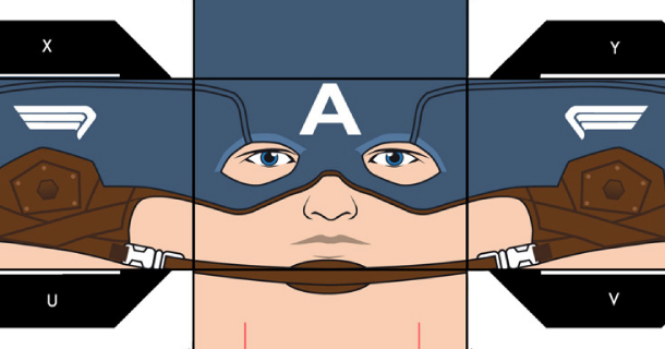 Blog_Paper_Toy_papertoy_Captain_America