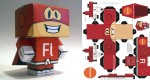 Papertoy Flashman !