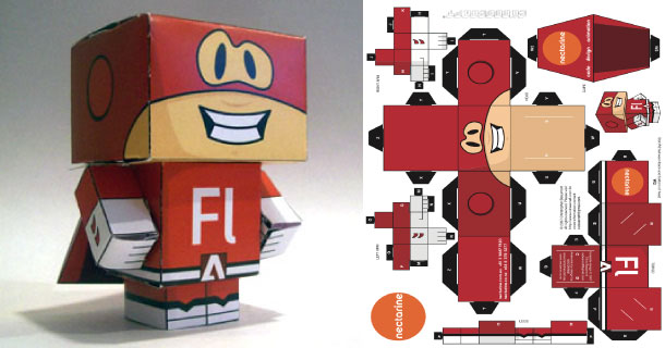 Blog_Paper_Toy_papertoy_Flashman