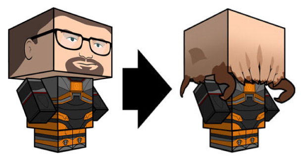 Blog_Paper_Toy_papertoy_Gordon_Freeman_Cubeecraft