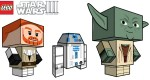Paper Toys Clone Wars III by Cubeecraft