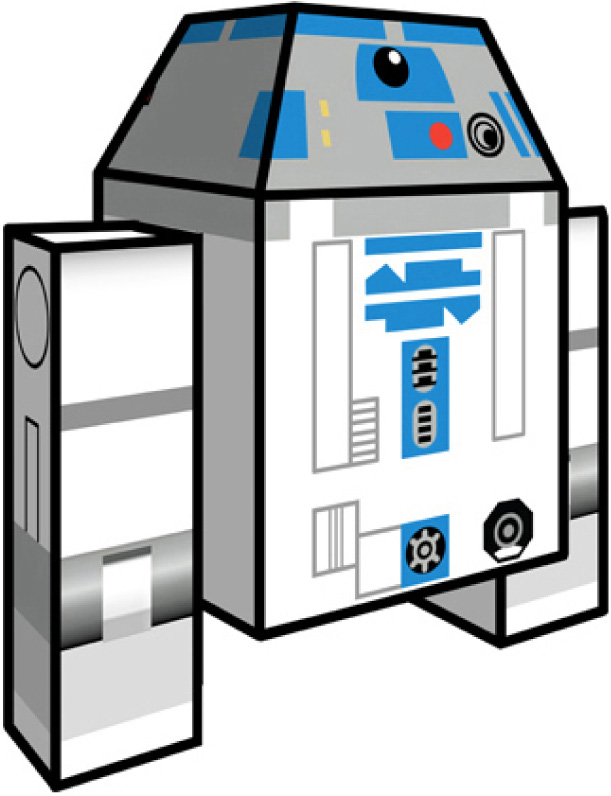Paper Toys Clone Wars Pictures to pin on Pinterest