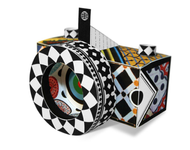 Blog Paper Toy pinhole camera Corbis Readymech WPCD 5 Sténopés design by Corbis