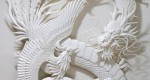 Jeff Niska, sculpteur de papier...