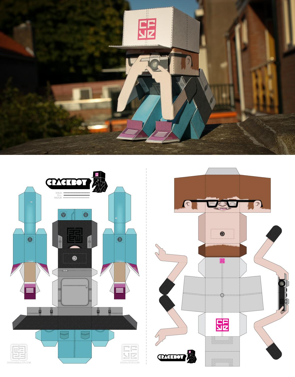 Boy Toys Template : Juguetes de papel