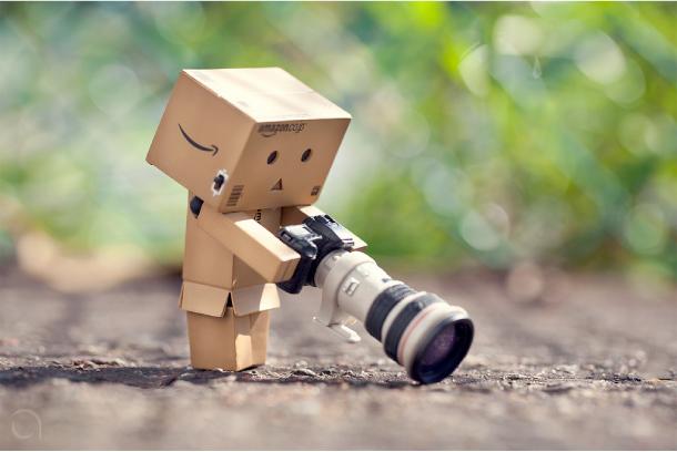 Blog Paper Toy papertoy Danbo camera Danbo, le robot en carton...