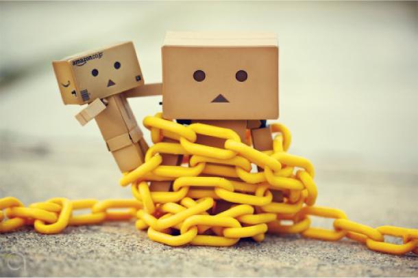 Blog Paper Toy papertoy Danbo chain Danbo, le robot en carton...
