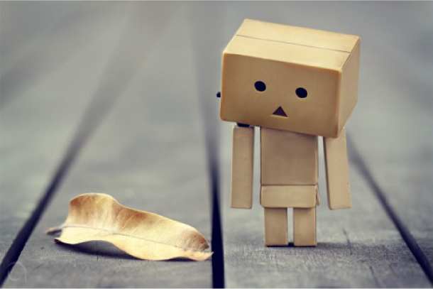 Blog Paper Toy papertoy Danbo leaf Danbo, le robot en carton...