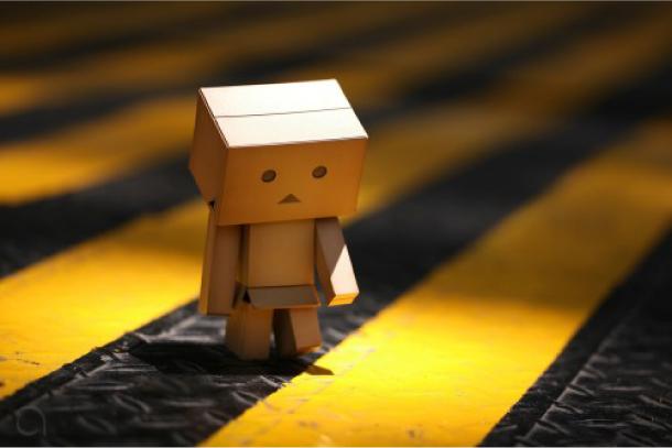Blog Paper Toy papertoy Danbo street Danbo, le robot en carton...