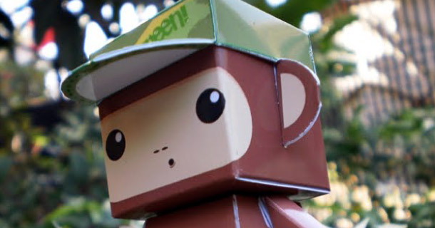 Blog_Paper_Toy_papertoy_Dumpy_Monkey
