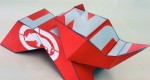 Papertoy ECKO Rhino de Nick Knite