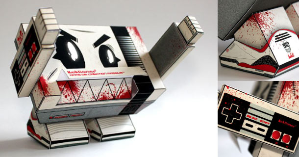Blog_Paper_Toy_papertoy_KACM_Monster