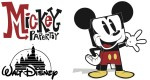 Papertoys Mickey Mouse (x 2)