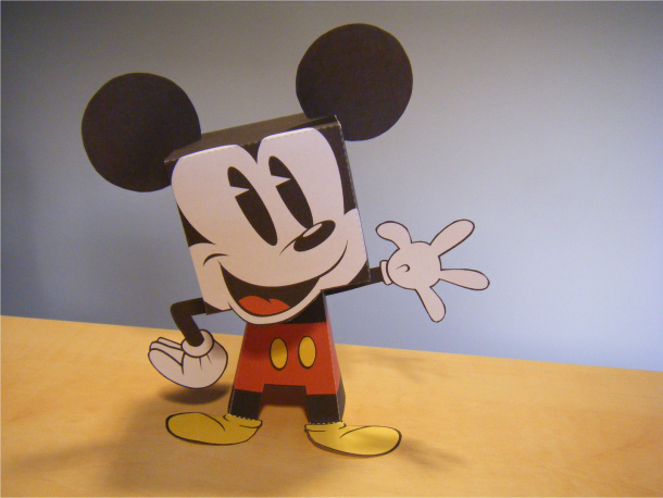 Imprimible de Mickey Mouse de Disney