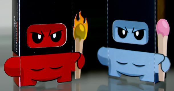 Blog_Paper_Toy_papertoy_Ninja_Matchbox_Jonny_Chiba