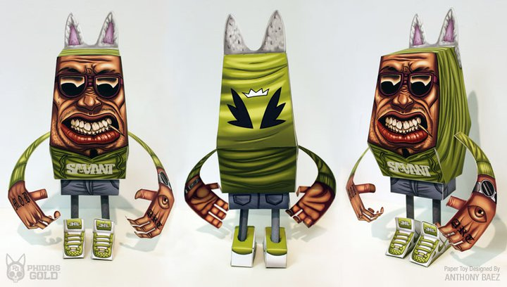 - Blog_Paper_Toy_papertoy_Phidias_Gold_Anthony_Baez_pic