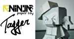 Papertoy T-Ninja Tagger (l&#039;original)