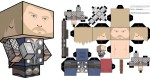 Cubeecraft Thor (Marvel)