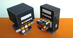 Papertoys Cubee & Rubee