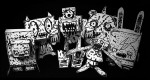 Paper toys Zombifie Six (x 6) from Thunder Panda