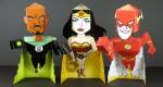 Paper toys super-héros Arby's