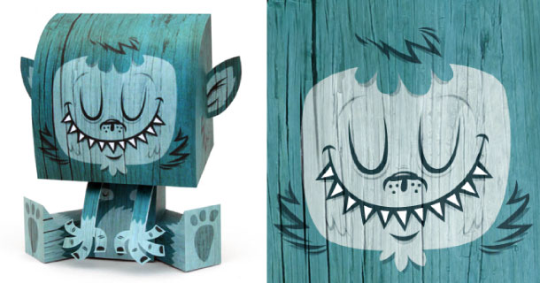 Blog_Paper_Toy_papertoy_Billy_Sweet_Monster_Tougui