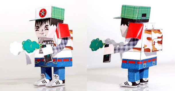 Blog_Paper_Toy_papertoy_Bomber_Boy