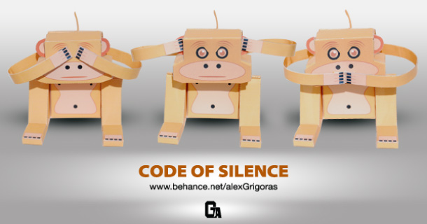 Blog_Paper_Toy_papertoy_Code_of_Silence_Alex_Grigoras