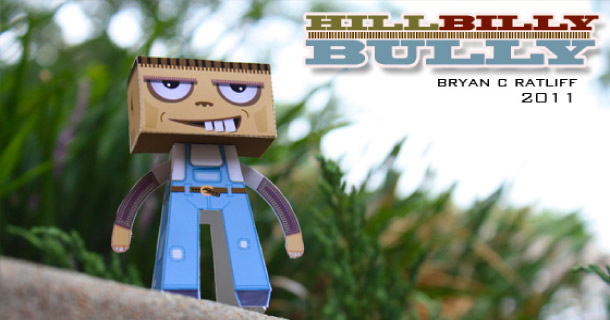 Blog_Paper_Toy_papertoy_Hillbillybully