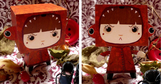 Blog_Paper_Toy_papertoy_Petit_Chaperon_Rouge_Rozenn_Bothuon