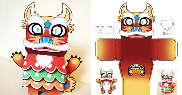 Blog_Paper_Toy_papertoy_Shu_Maru_creaturekebab