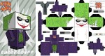 Paper toy the Joker (TDK version)