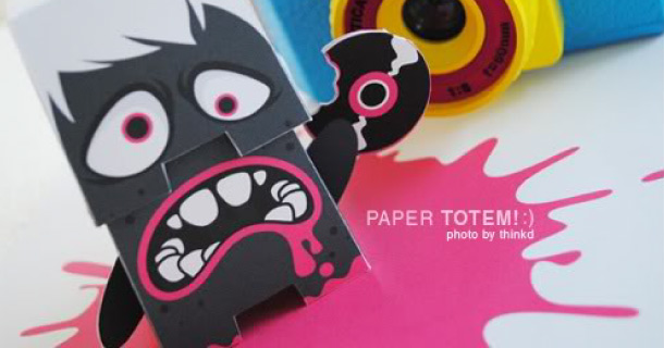 Blog_Paper_Toy_papertoy_Vinyl_Crunching_Creature