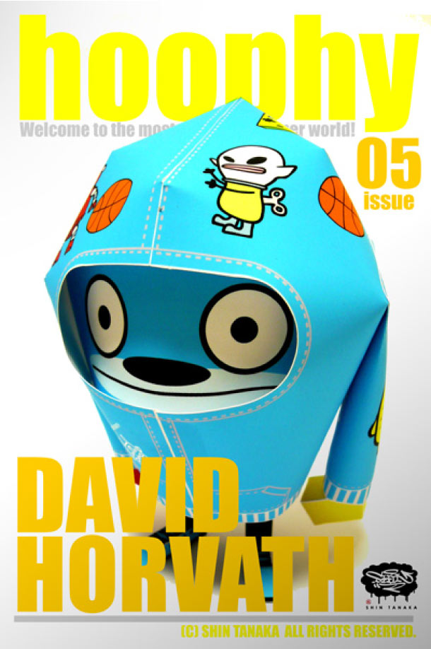 Blog Paper Toy papertoy hoophy 05 David Horvath Papertoys hoophy de Shin Tanaka (x 13)