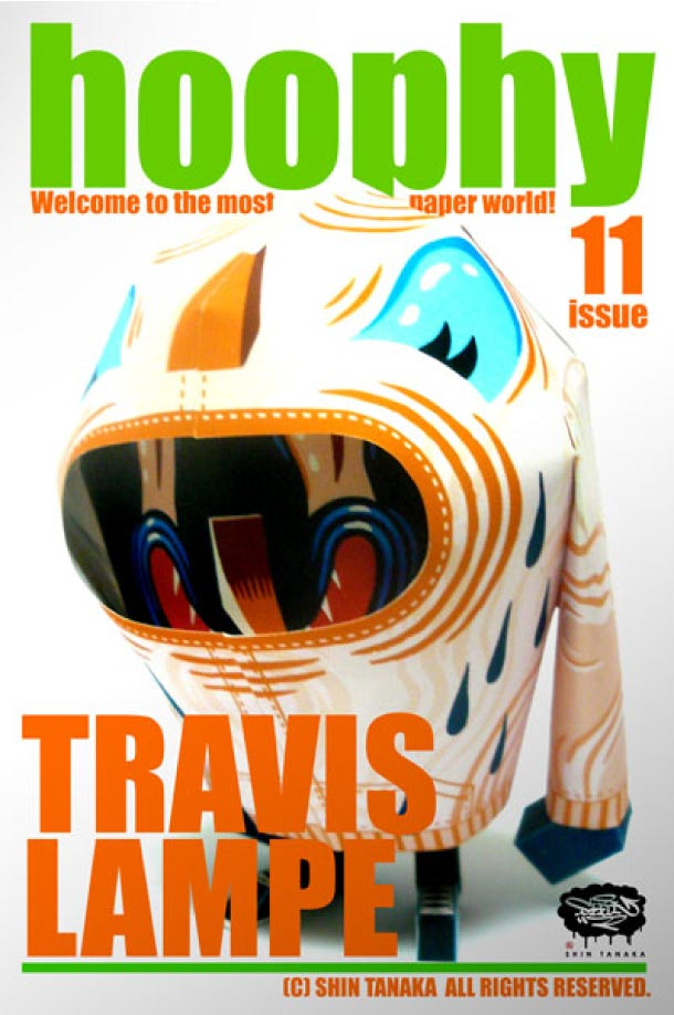 Blog Paper Toy papertoy hoophy 11 TRAVIS LAMPE Papertoys hoophy de Shin Tanaka (x 13)