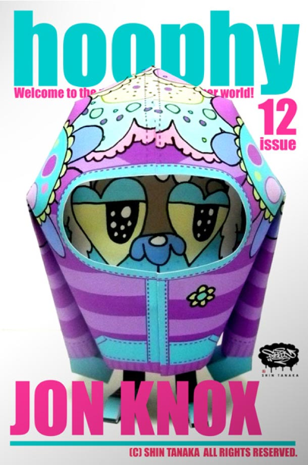 Blog Paper Toy papertoy hoophy 12 JON KNOX Papertoys hoophy de Shin Tanaka (x 13)