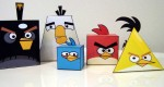 Papertoys Angry Birds (x 8)