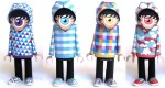 Papertoys Hoody (Serie 5) by dmc (x 5)