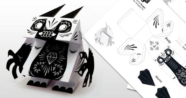 Blog_Paper_Toy_papertoy_Godzicrack_Tougui