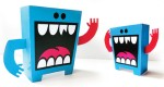 The LOUDMOUTH papertoy by Greg Mike