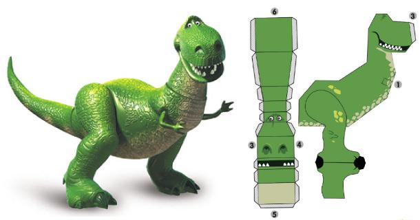 Blog_Paper_Toy_papertoy_Rex_Disney
