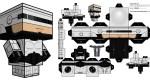 Papertoy Robocop Cubeecraft