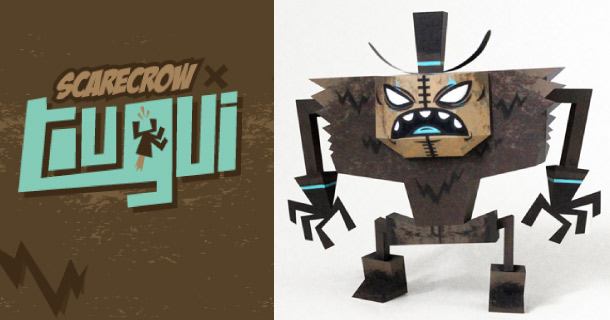 Blog_Paper_Toy_papertoy_ScareCrow_Tougui