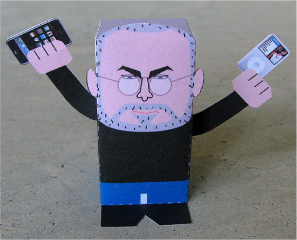 Blog Paper Toy papertoy Steve Jobs pic2 Tribute to Steve Jobs (1955   2011)