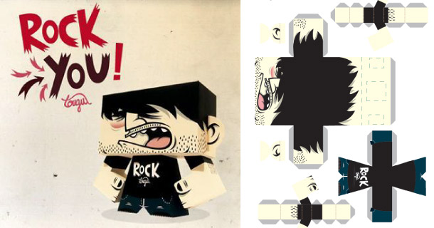 Blog_Paper_Toy_papertoy_Dude_Tougui