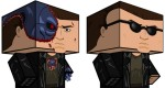Papertoys Cubeecraft T-800 (x 2)