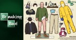 Paper Dolls Breaking Bad (x 9)