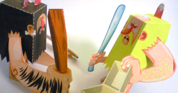 Blog_Paper_Toy_papertoys_Cavemen_Jerom