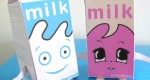 Papertoys 'Milky' (x 2)